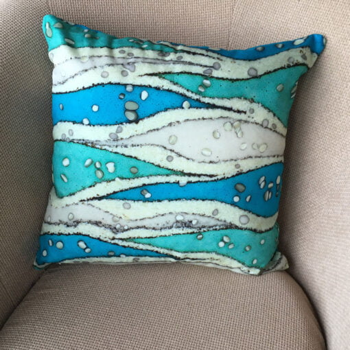 Catherine Lowe - printed cotton fabric Hebridean Cushion