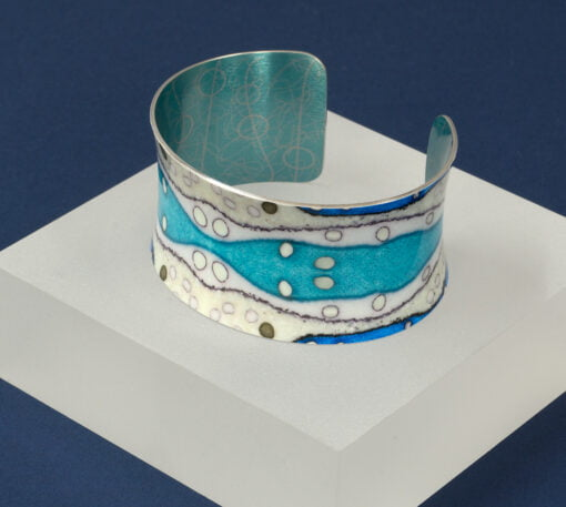 Hebridean Collection wide cuff